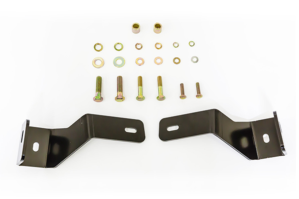 westin safari light bar mounting kit