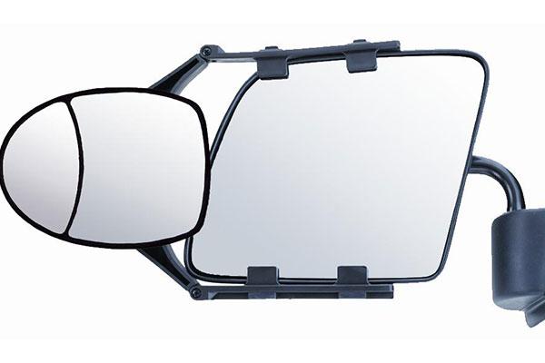 cipa dual view clip on towing mirror 1