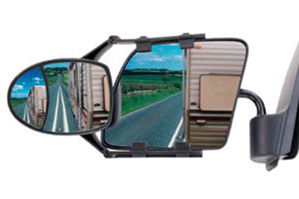 cipa dual view clip on towing mirror 2