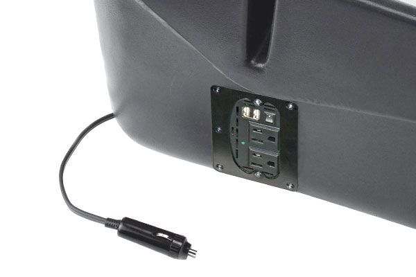 auto exec reach desk with inverter