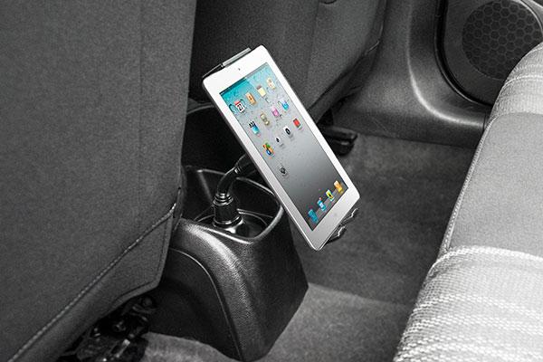 bracketron phabgrab cup holder mount backseat