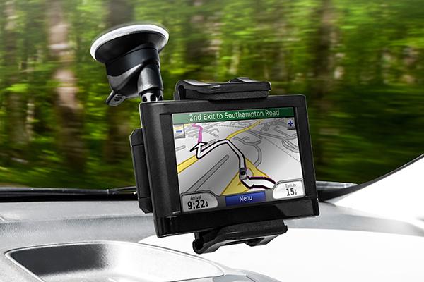 bracketron tekgrip windshield mount holds gps