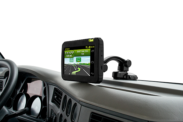 bracketron tough gps dash and window mount in car
