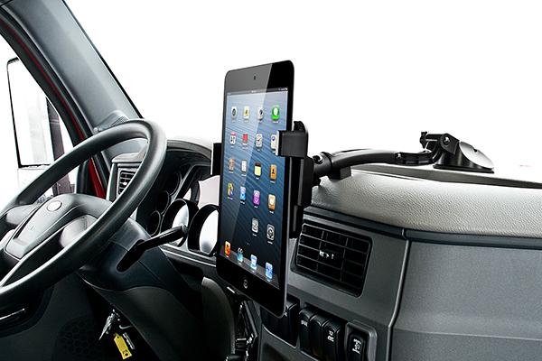 bracketron tough tablet dash and window mount on dash
