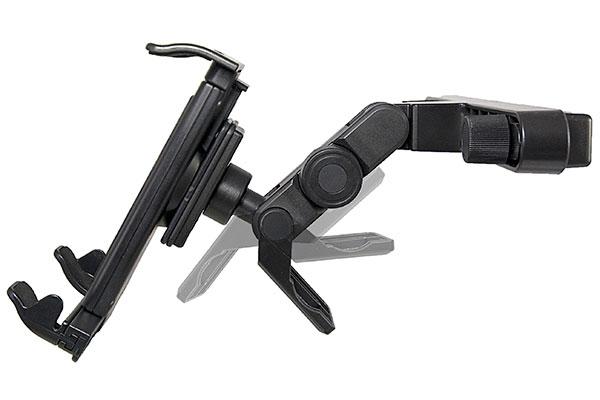 bracketron universal tablet headrest mount detail
