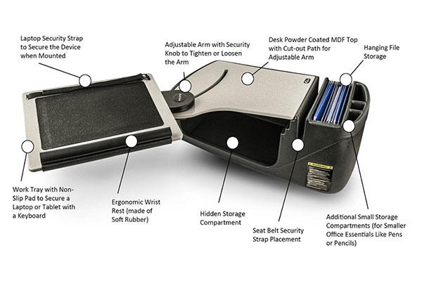productsrellmobile electronicsauto exec reach desk features