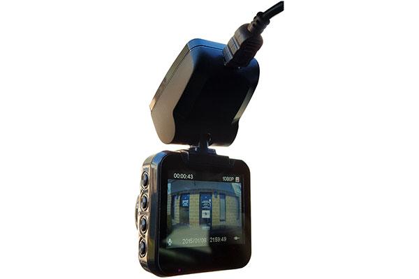 top dawg eagleeye mini 1440p dvr dash cam screen