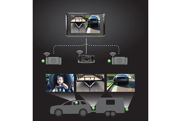 yada backup camera expandable system expandables