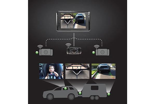 yada backup camera expandable system expandables
