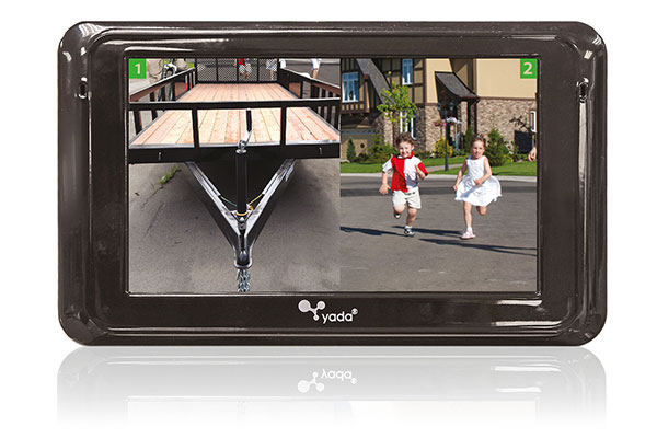 yada backup camera expandable system use