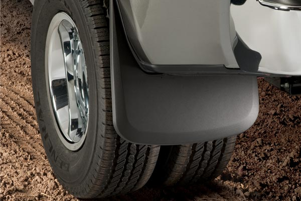 Husky mud guards truck back
