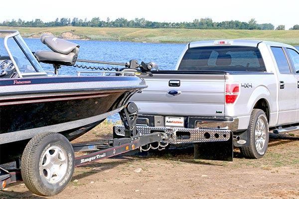 access rockstar hitch mounted mudflaps tow boat