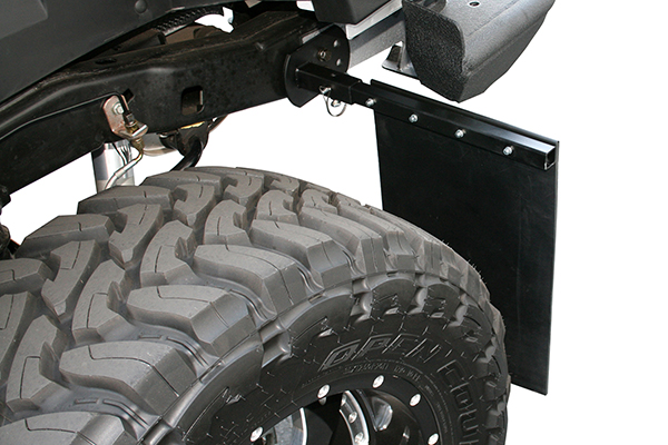 aries removable mud flaps on vehicle