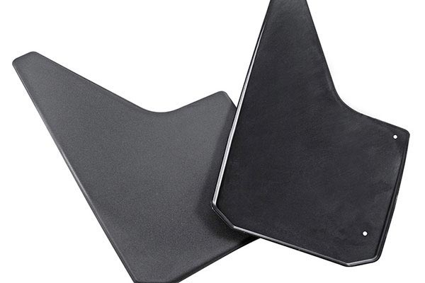 dee zee universal rubber splash guard pairs