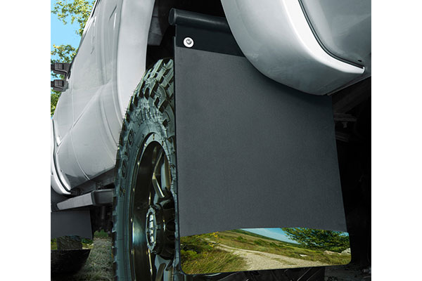 husky liners removable pivoting mud flaps installed