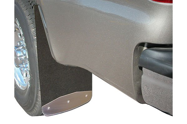 luverne universal rubber mud guards installed