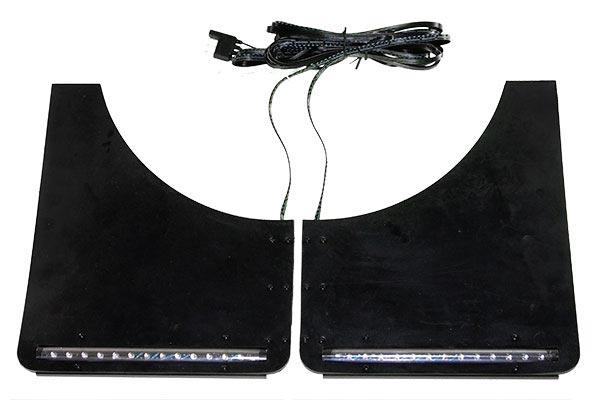 plasmaglow mud flap led kit