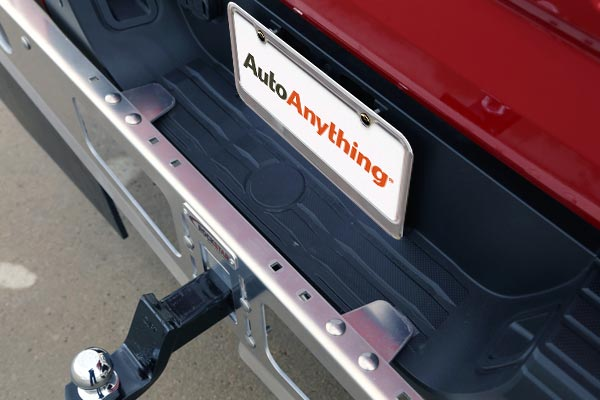 rockstar universal hitch mounted mud flaps adjustable support flanges