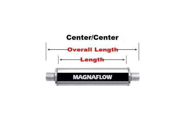 magnaflow xl turbo center center