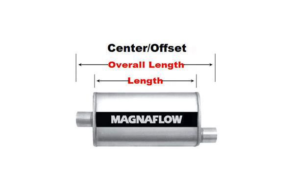 magnaflow xl turbo center offset
