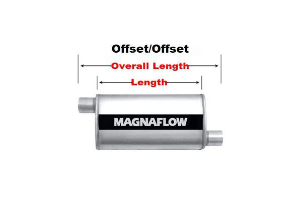 magnaflow xl turbo offset offset