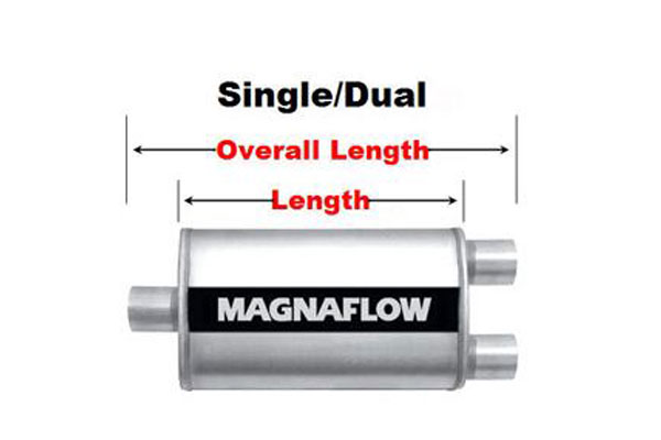 magnaflow xl turbo single dual