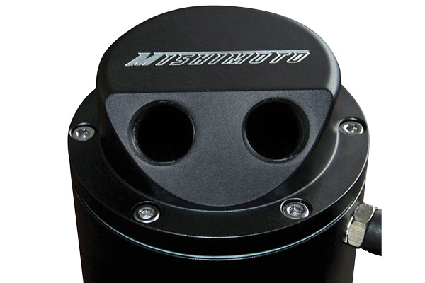 mishimoto oil catch can black top housing