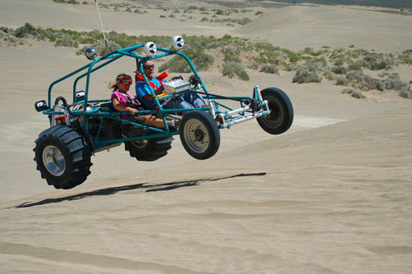 5681 optima red top dune buggy