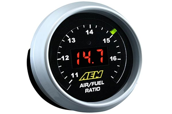 aem wideband uego air fuel ratio digital gauge