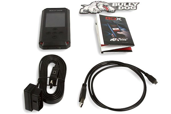 bully dog bdx tuner kit includes