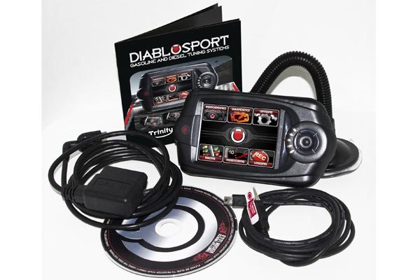diablosport Trinity Whats in the box Image UPDATED