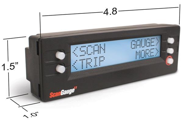 scan gauge control