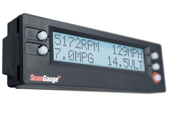 scan gauge port side