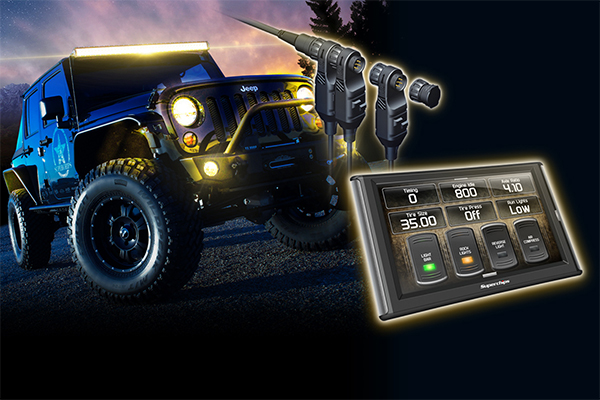 superchips traildash2 jeep tuner toggle switches