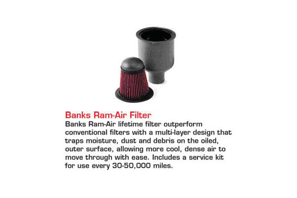 banks accessories banks ram air filer