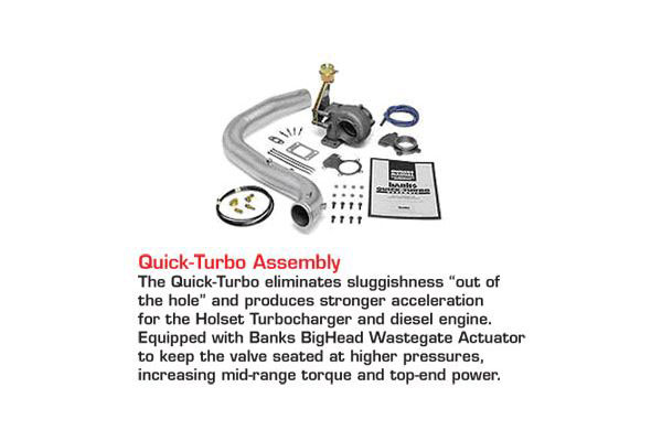 banks accessories quick turbo assembly