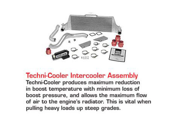 banks accessories technicooler intercooler assembly