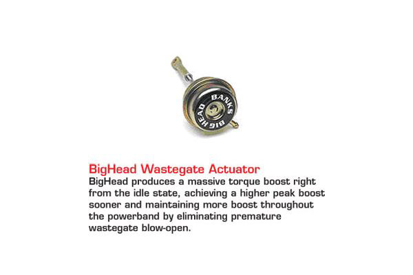 banks big hoss bundle accessories bighead wastegate actuator
