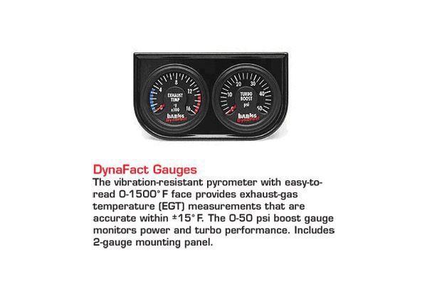 banks powerpack system accessories dynafact gauges