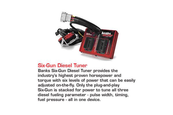 banks six gun bundle accessories sixgun diesel tuner