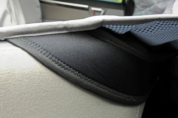Motor Trend Hammock Seat Protector detail