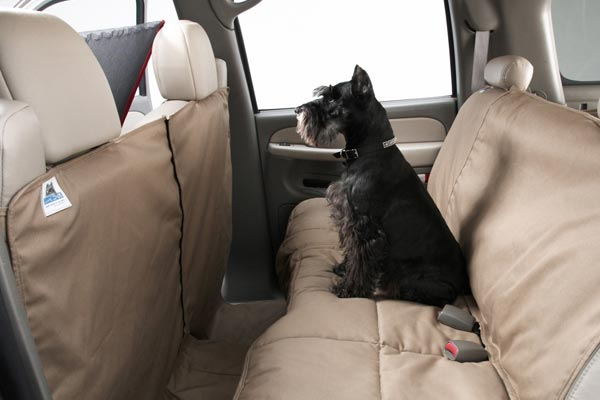 canine covers canvas coverall seat protector with canine