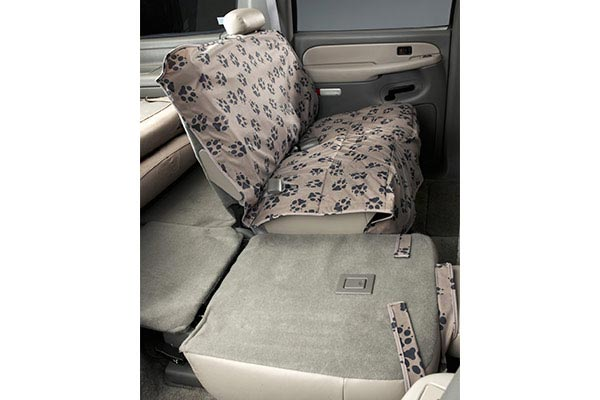 Canine Covers Crypton Paw Print Seat Covers Best Price