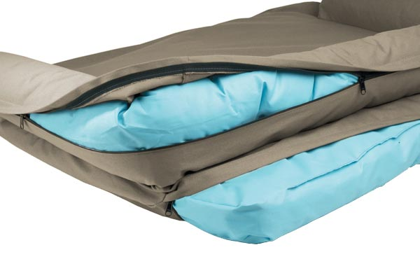 canine covers crypton paw print ultimate dog bed liner
