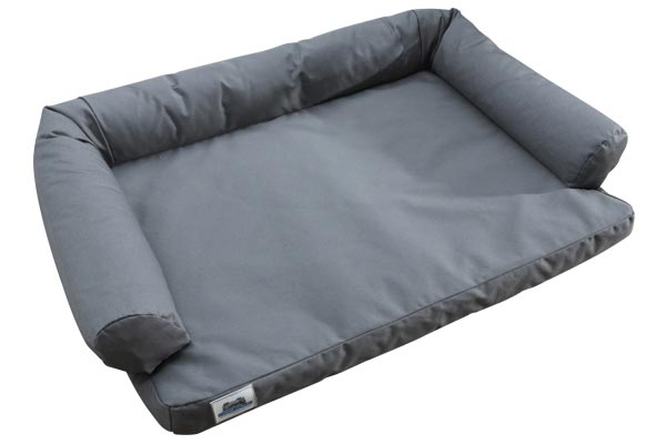 canine covers dog bed empty