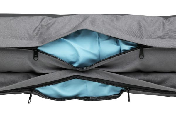 canine covers dog bed zippers