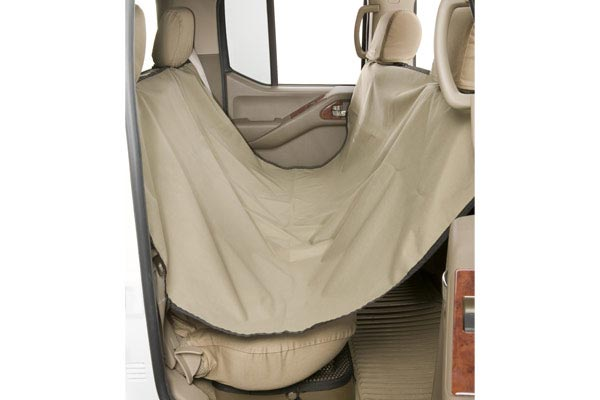 canine covers dog rear seat hammock installed