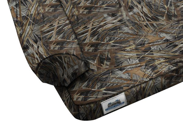 canine covers true timber camo ultimate dog bed closeup