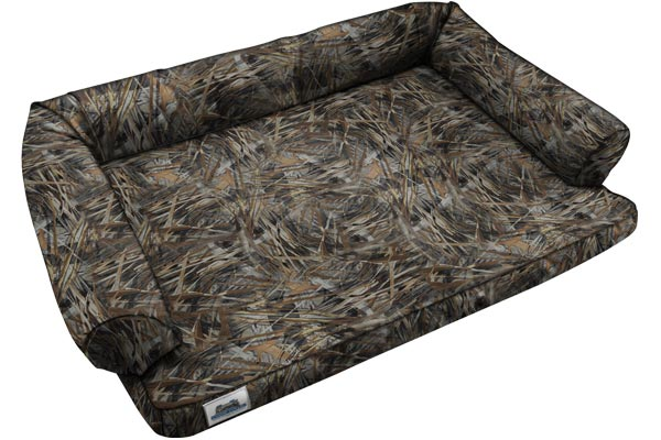 canine covers true timber camo ultimate dog bed empty