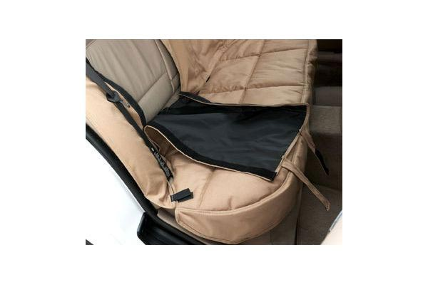 canine custom tailored openings for seat